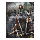 Steampunk - The Steam Engine Letterhead
