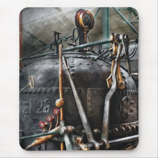 Steampunk - The Steam Engine Mousepads