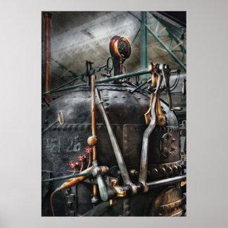 Steampunk - The Steam Engine Poster