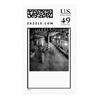 Steampunk - The steam tunnel Postage Stamps