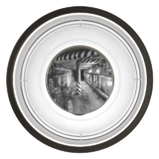 Steampunk - The steam tunnel Pet Bowl