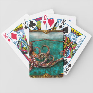 Steampunk - The tale of the Kraken Bicycle Playing Cards