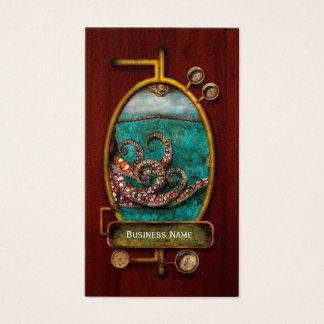 Steampunk - The tale of the Kraken Business Card