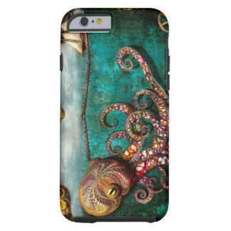 Steampunk - The tale of the Kraken Tough iPhone 6 Case