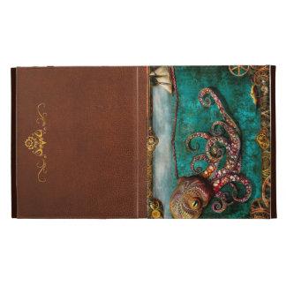 Steampunk - The tale of the Kraken iPad Folio Cases