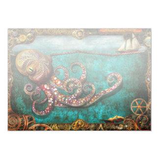 Steampunk - The tale of the Kraken Card