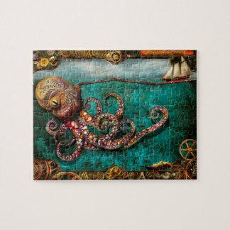 Steampunk - The tale of the Kraken Jigsaw Puzzle
