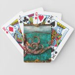 Steampunk - The tale of the Kraken Bicycle Poker Deck