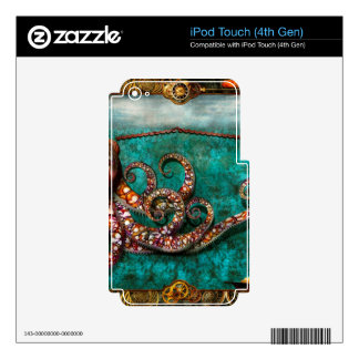 Steampunk - The tale of the Kraken Skins For iPod Touch 4G