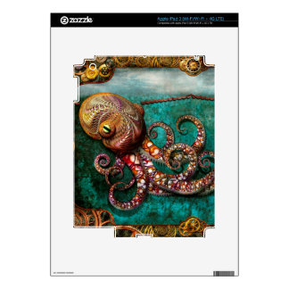 Steampunk - The tale of the Kraken iPad 3 Decal