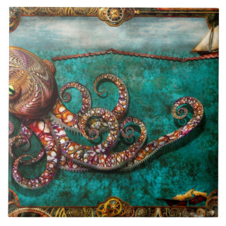 Steampunk - The tale of the Kraken Tile