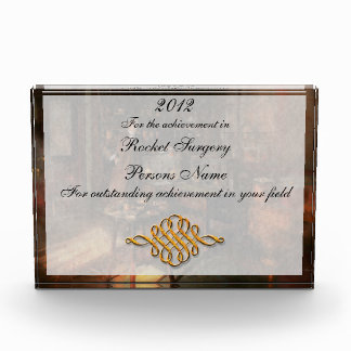Steampunk - The time traveler 1920 Acrylic Award