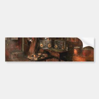 Steampunk - The time traveler 1920 Bumper Sticker