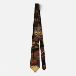 Steampunk - The time traveler 1920 Neck Tie