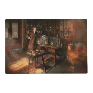 Steampunk - The time traveler 1920 Placemat