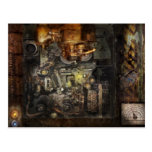 Steampunk - The Turret Computer Post Cards