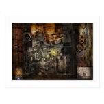 Steampunk - The Turret Computer Postcard