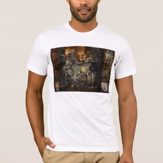 Steampunk - The Turret Computer T-Shirt