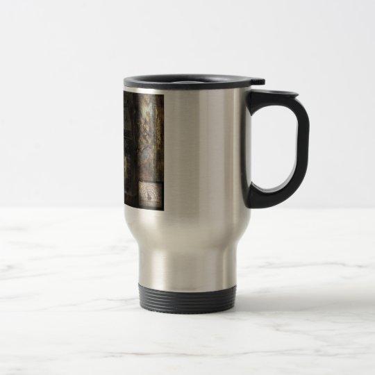 Steampunk - The Turret Computer Travel Mug