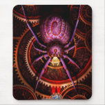 Steampunk - The webs we weave Mousepad
