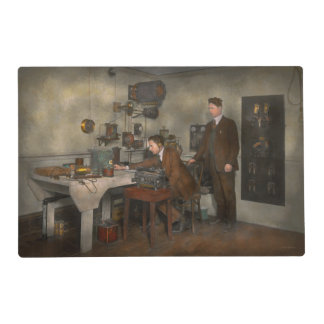 Steampunk - The wireless apparatus - 1905 Placemat