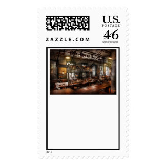 Steampunk - The Workshop Postage Stamps