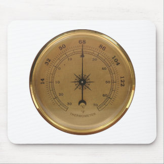 Steampunk Thermometer Mouse Pad