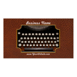Steampunk - Things that changed Business Card Templates