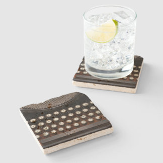 Steampunk - Things that changed Stone Beverage Coaster