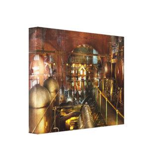Steampunk - Think Tanks Canvas Print