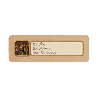 Steampunk - Think Tanks Label