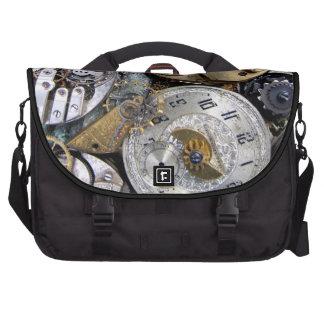 Steampunk Time Chronometer Pocket Watch laptop bag
