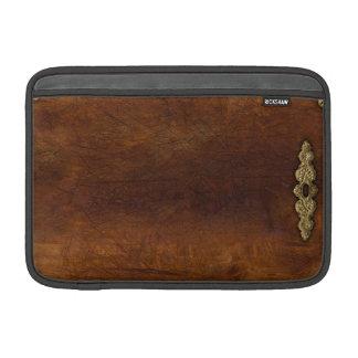 Steampunk time! MacBook sleeve