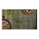 Steampunk Time Machine Business Profile Cards Double-Sided Standard Business Cards (Pack Of 100)