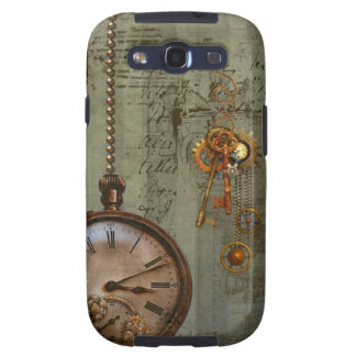 Steampunk Time Machine Samsung Galaxy S3 Cover