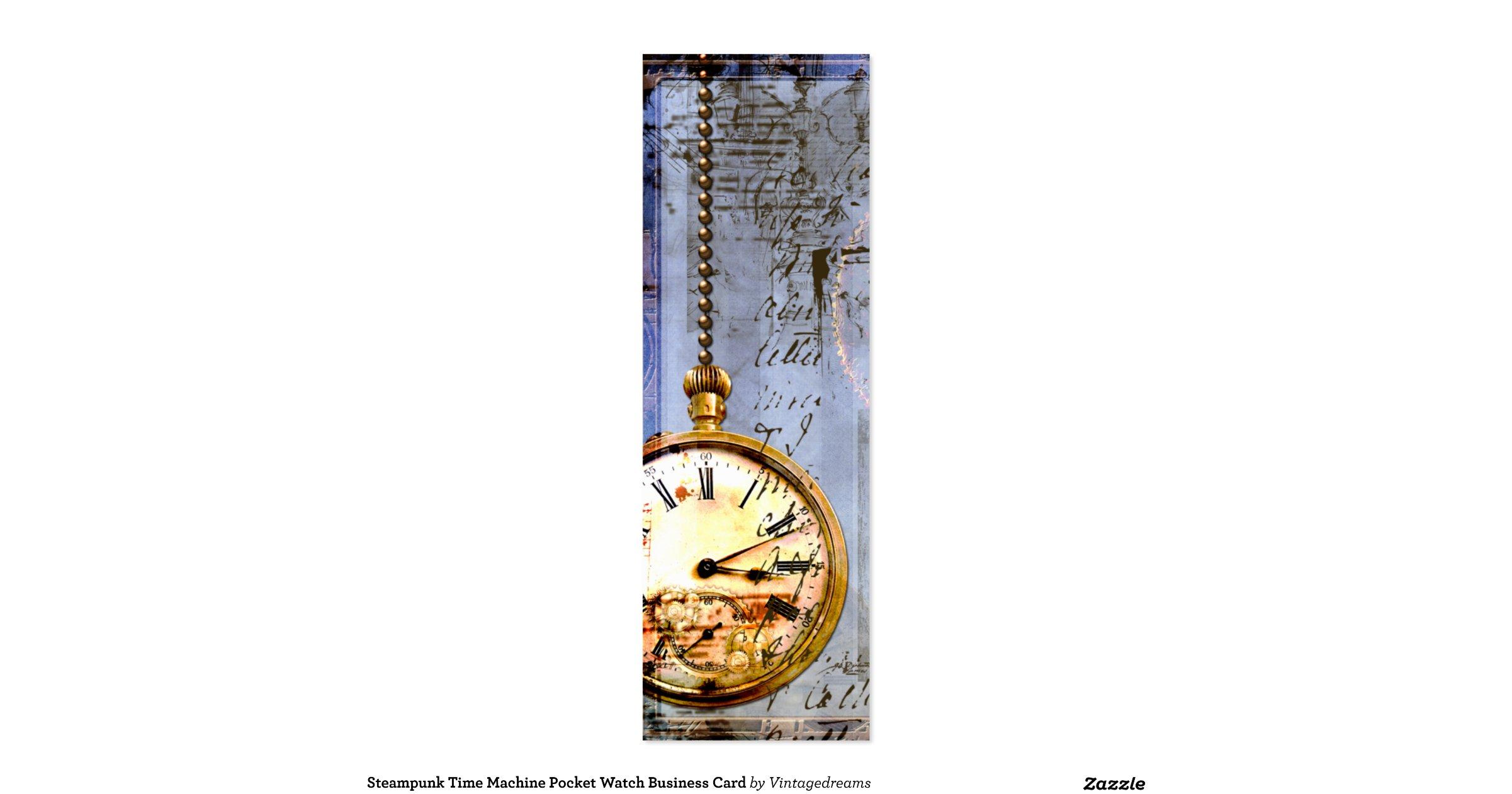 time machine pocket watches