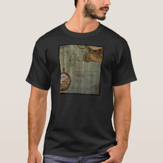 Steampunk Time Machine T-Shirt