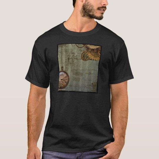 Steampunk Time Machine T-Shirt
