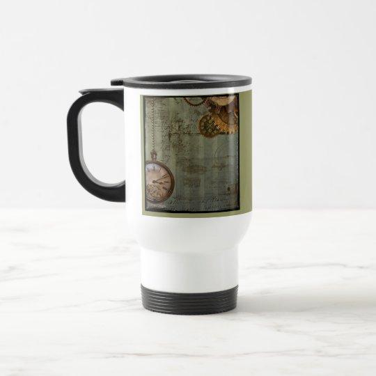 Steampunk Time Machine Travel Mug