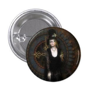 Steampunk timekeeper button