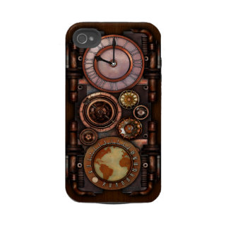 Steampunk Timepiece #1 Iphone 4 Tough Case