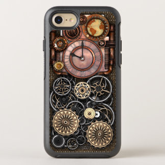 Steampunk Timepiece DeLuxe OtterBox Symmetry iPhone 7 Case