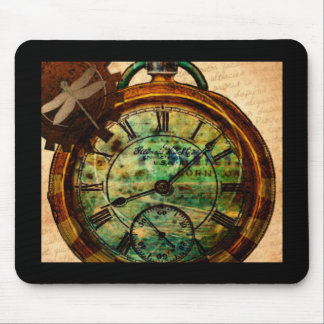 Steampunk Timepiece Mouse Pad