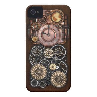 Steampunk Timepiece Redux iPhone 4 Case-Mate Case