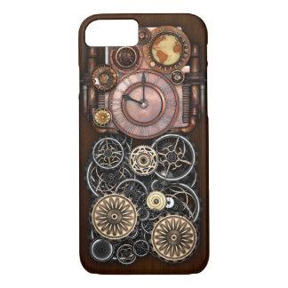 Steampunk Timepiece Redux iPhone 7 Case