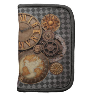Steampunk Timepieces and Gears Planner