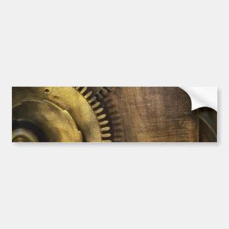 Steampunk - Toothy Car Bumper Sticker