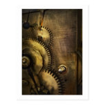 Steampunk - Toothy Post Card