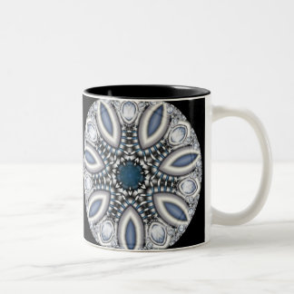 Steampunk Topaz Kaleidoscope Mug