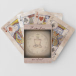 Steampunk Tophat Bicycle Poker Deck